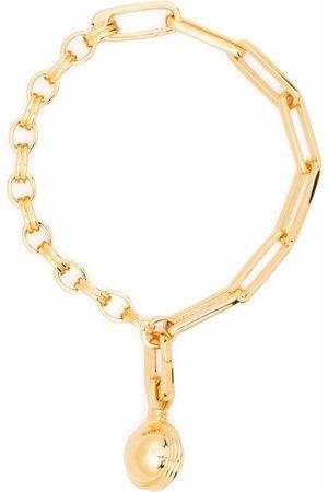 Missoma Naiset Rannekorut - Small sphere chain bracelet