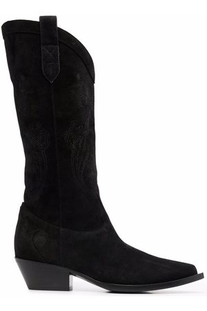Etro Knee-high leather boots