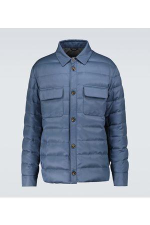 Loro Piana Down-filled silk jacket