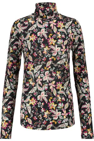Isabel Marant Jewel floral stretch-jersey top