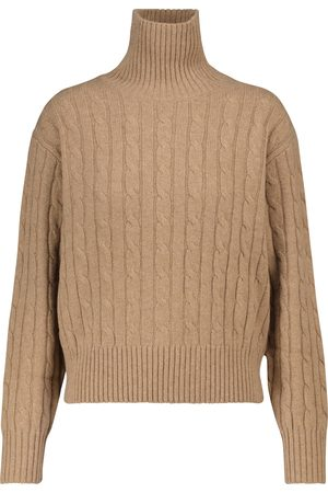 Polo Ralph Lauren Naiset Poolopaidat - Wool and cashmere turtleneck sweater