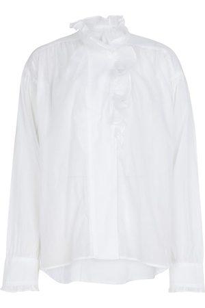 Isabel Marant Pamias ruffled cotton blouse