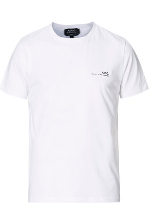 A.P.C. Miehet T-paidat - Item Short Sleeve T-Shirt White