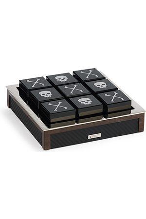 Ralph Lauren Sutton Carbon Fiber Tic Tac Toe Set Black