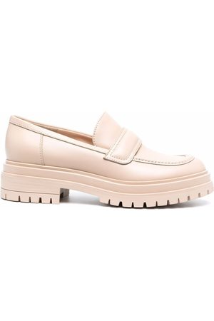 Gianvito Rossi Naiset Loaferit - Ridged-sole loafers