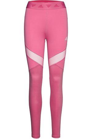 adidas High Waist Tights W Running/training Tights Vaaleanpunainen