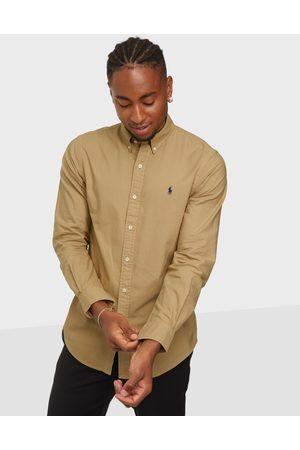 Polo Ralph Lauren Miehet Pikee - Polo Sport Shirt Kauluspaidat Camel