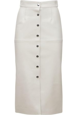 Isabel Marant Naiset Nahkahameet - Blehor Leather Midi Skirt