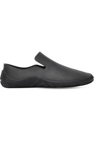 Bottega Veneta Matte Rubber Slip-on Sneakers