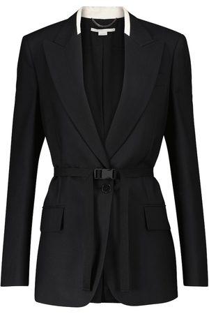 Stella McCartney Belted wool-blend blazer