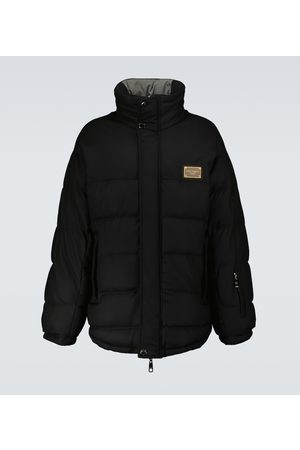 Dolce & Gabbana Wool zipped parka jacket