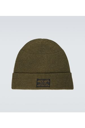 RRL Knitted stretch-cotton watch cap