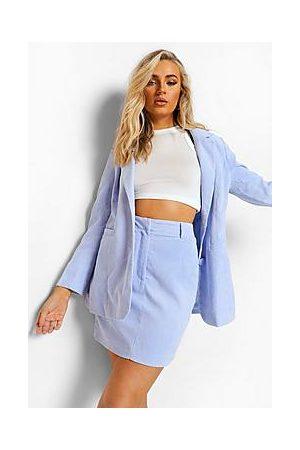 Boohoo Pastel Cord Mini Skirt
