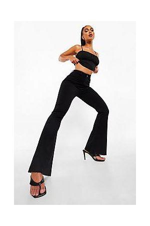 Boohoo Naiset Boyfriend - Stretch Denim Flare Jeans