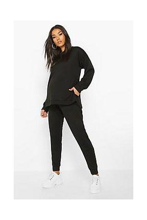 Boohoo Onesiet - Maternity Side Split Loungewear Set