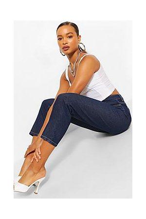 Boohoo Mid Rise Boyfriend Jeans