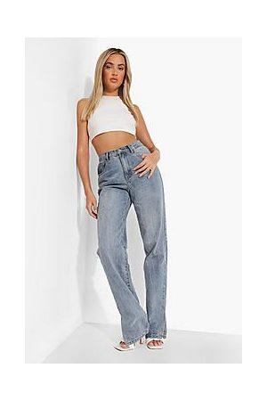 Boohoo Side Split Jeans