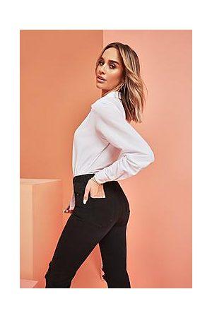 Boohoo Super High Waist Power Stretch Skinny Jeans