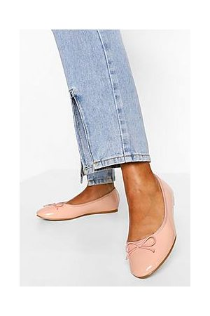 Boohoo Wide Fit Round Toe Ballet Flats