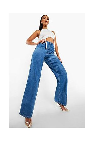 Boohoo High Rise Dad Jeans