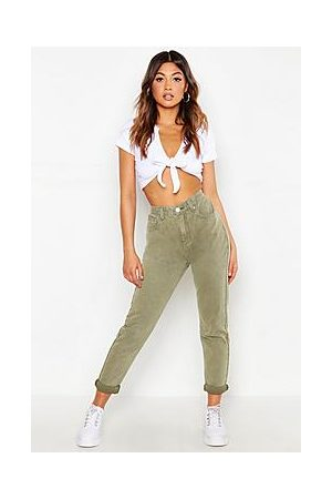 Boohoo High Waist Rigid Mom Jeans