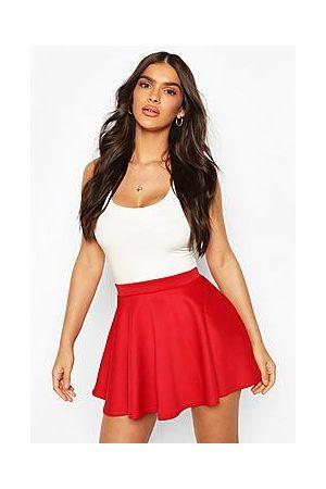 Boohoo Naiset Minihameet - Basic Micro Fit And Flare Skater Skirt