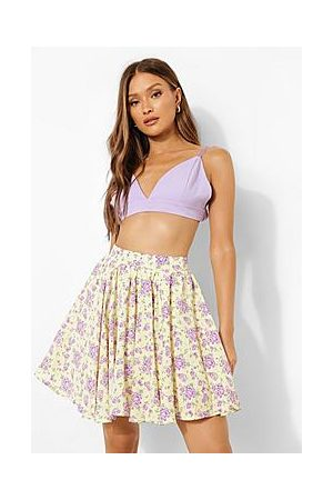 Boohoo Naiset Minihameet - Ditsy Floral Flippy Skater Skirt