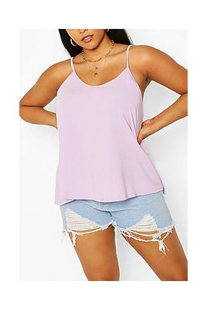 Boohoo Plus Basic Swing Cami Vest Top
