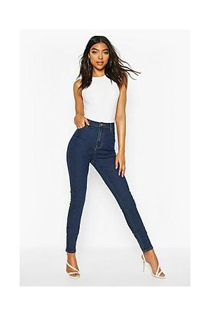 """Boohoo Naiset Korkeavyötäröiset - Tall High Waist 36"""""""" Leg Skinny Jeans"""
