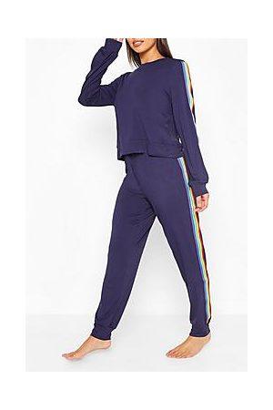 Boohoo Rainbow Loungewear Set