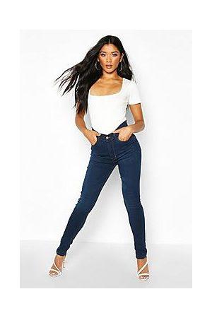 Boohoo High Rise 5 Pocket Skinny Jeans