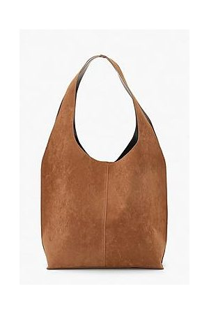 Boohoo Suedette Slouch Tote Bag