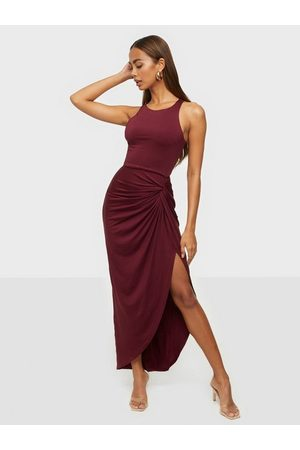 NLY Out Till Dawn Dress Burgundy