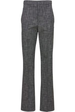 Isabel Marant Naiset Housut - Lirokia Checked Suit Cotton Pants