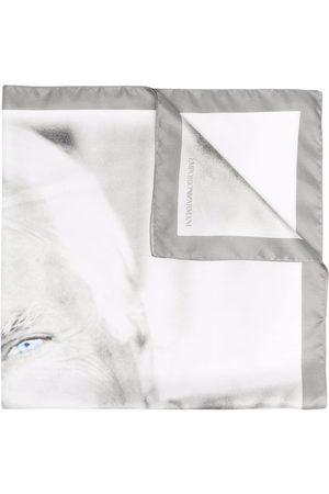 Emporio Armani Graphic print scarf