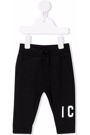 Dsquared2 Icon cotton track trousers