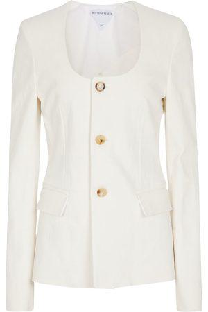 Bottega Veneta Naiset Päällystakit - Stretch-linen jacket