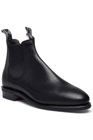 R.M. Williams Adelaide D Yearling Black 6+ Shoes Chelsea Boots
