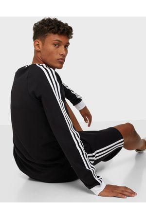 adidas Miehet Neulepaidat - 3-Stripes Ls T Neuleet & swetarit Black