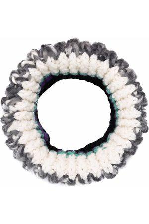 Missoni Naiset Huivit - Panelled-knit wool snood scarf