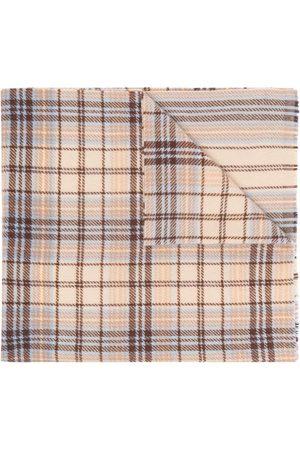 Acne Studios Huivit - Tartan logo scarf