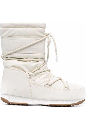 Moon Boot Naiset Nauhalliset saappaat - Waterproof mid-length lace-up boots