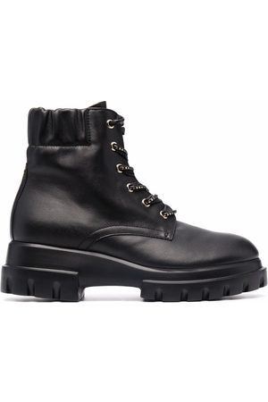AGL ATTILIO GIUSTI LEOMBRUNI Naiset Nauhalliset saappaat - Maxine Lux lace-up boots