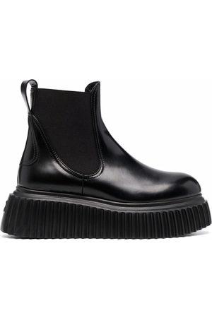 AGL ATTILIO GIUSTI LEOMBRUNI Naiset Nilkkurit - Malisa leather chelsea boots