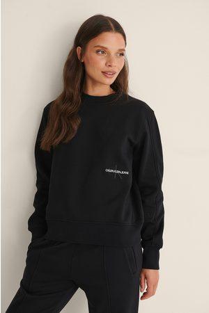 Calvin Klein Naiset Neulepaidat - Neulepusero - Black