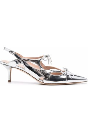 Scarosso X Paula Cademartori Cinderella leather pumps