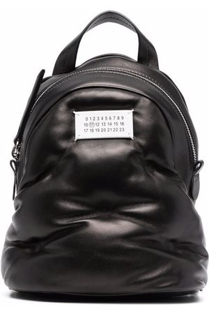 Maison Margiela Padded number-logo backpack