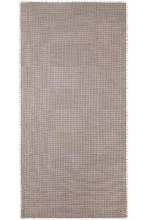 Burberry Frayed check scarf