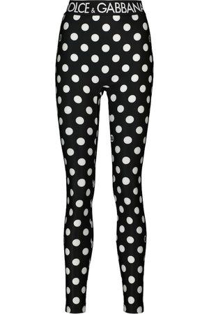Dolce & Gabbana Polka-dot leggings