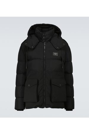 Dolce & Gabbana Down-padded hooded jacket